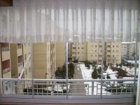 stor perdeli cam balkon